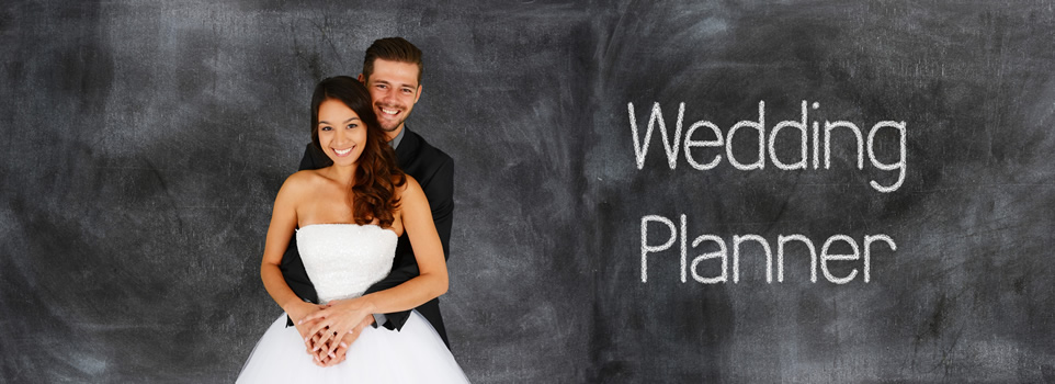 Wedding planners help minimize the stress of planning a wedding