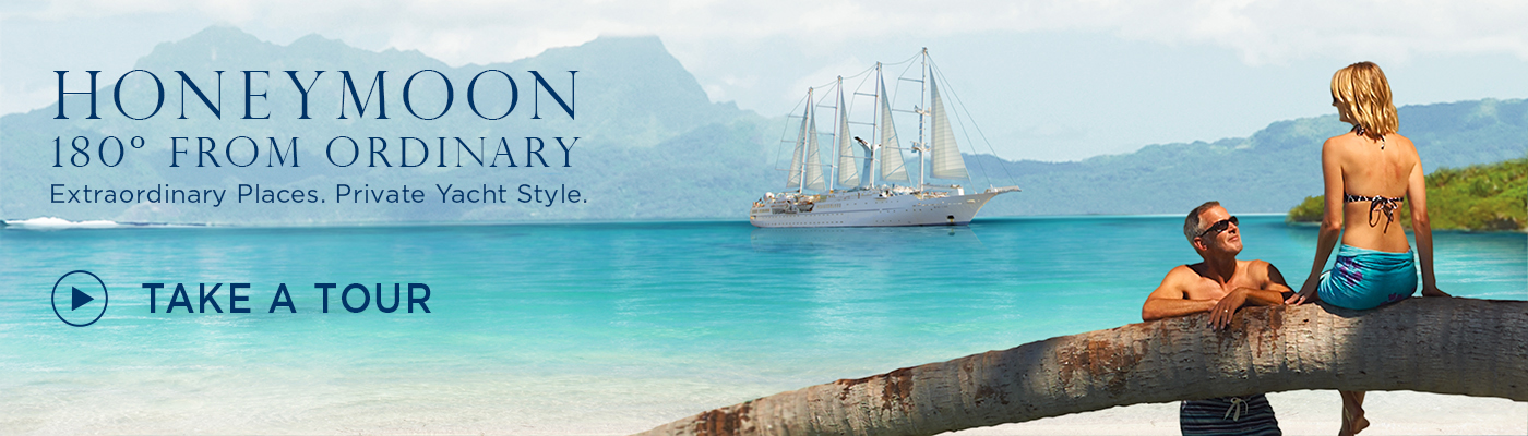 windstar cruises honeymoon ad