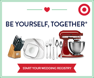 Crate and Barrel Wedding Registry ad